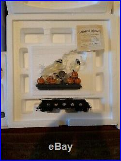 Hawthorne Village Nightmare Before Christmas Express Train Set with COAs