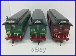 Hawthorne Village Thomas Kinkade Christmas Express Bachmann On30 Train Set Nice