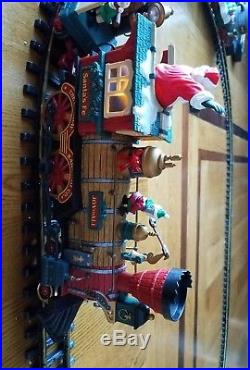 Holiday Express Animated Train Set 385 New Bright G Scale Railroad Christmas