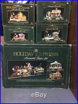 Holiday Express Christmas Animated Train Set New bright