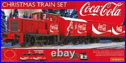 Hornby R1233 R1233M Coca Cola Christmas Starter Train Set 00 OO Gauge