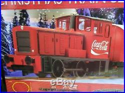 Hornby R1233 The Coca-Cola Christmas Full Train Set, 00