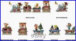 Jim Shore Peanuts Christmas Train Individual Cars or Sets Free Shipping