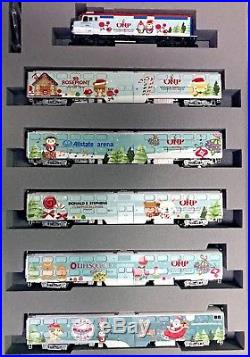 Kato106-2017 N OPERATION NORTH POLE SET 6 pc set (in BOOK CASE) Christmas Train
