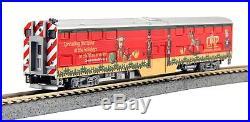 Kato 106-2015 F40PH Operation North Pole Christmas Train 4 Cars Set N