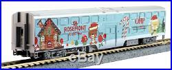 Kato #106-2017 N Scale 2017 Operation North Pole Christmas Train 6-Unit Set