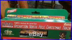 Kato N 1062015 Operation North Pole Christmas Train Set (NEW & SEALED)