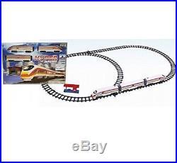 Kids Hyper Bullet Express Eurostar Train Toy Set Sound & Light Ideal XMAS Gift