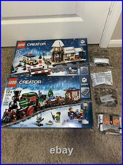 LEGO 10254-10259 Winter Village & Winter Holiday Train & All Power Functions