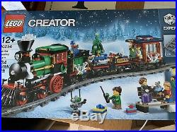 LEGO 10254 Christmas Holiday Train New Rare