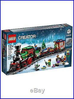 LEGO-10254-Creator Expert-Winter Holiday Christmas Train-Retired Product-NISB