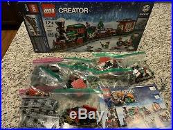 LEGO 10254 Creator Expert Winter Holiday Train Christmas Set Retired