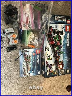 LEGO 10254 Winter Christmas Holiday Train 100% COMPLETE with power parts