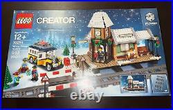 LEGO 10259 Creator Winter Village Station RETIRED Set Christmas FACTORY SEALED