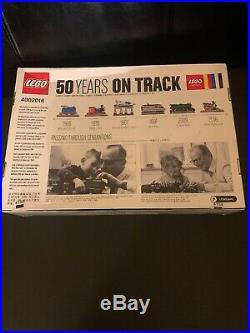 LEGO 4002016 Employee Christmas Gift 2016 50 Years on Track NEW MISB