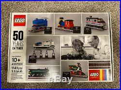 LEGO 4002016 Employee Christmas Gift 50 Yesrs On Track Extremely Rare, NIB