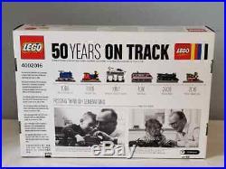 LEGO 4002016 Employee Christmas Gift 50 Yesrs On Track Sealed Rare, NIB