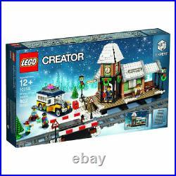LEGO CREATOR Winter Village Station 10259 Expert Holiday XMas For Teens 902 Pcs