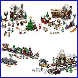 LEGO Christmas Winter SANTA 10245 TOY 10249 TRAIN 10254 STATION 10259 New MISB