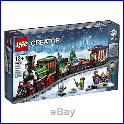 LEGO Creator Expert Winter Holiday Train 10254 Christmas Train Set with Full and