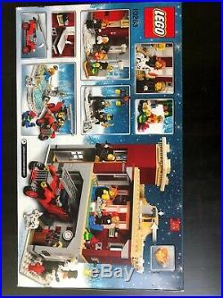 LEGO Creator Winter Village Fire Station 10263 Brand New Sealed Box Christmas SE