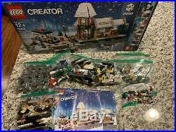 LEGO Creator Winter Village Station 10259 Christmas large set RETIRED