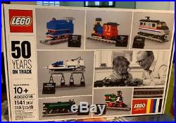 LEGO Employee Christmas Gift Trains 50 Years On Track 4002016 New Never Opened