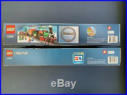 LEGO RETIRED Winter Holiday Train 10254 AND Village Station 10259 CHRISTMAS