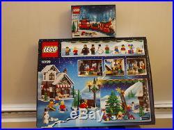 LEGO Seasonal Winter Village Toy Shop (10199) Christmas Train 40138 MISB