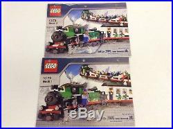 LEGO Set 10173 Christmas Holiday Train 100% Complete Xmas