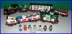 LEGO Trains Christmas Holiday Train Set 10173 100% Complete + Instructions