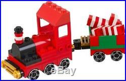 LEGO Winter village Christmas SANTA'S WORKSHOP 10245 ELF NEW & 40034 Train Set