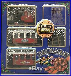 LGB #20540 Christmas Train Set
