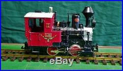 LGB 20540 MINT IN THE BOX CHRISTMAS TRAIN SET WITH SMOKE G SCALE mfg GERMANY