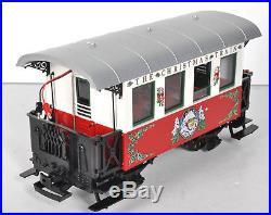 LGB 20540 US G-Scale Christmas Train Set NICE Runs with Shopping Bag & Box