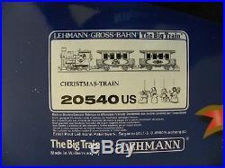 LGB #20540us Christmas Train Set G Gauge