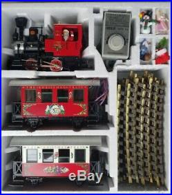 LGB 21540 Red Christmas Train Set withBox, Collection Item