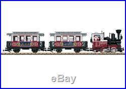 LGB 72304 CHRISTMAS PASSENGER TRAIN STARTER SET WithSMOKE! NEW IB USA LGB WARRANTY