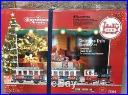 LGB #72304 Christmas Train Starter Set Indoor/Outdoor