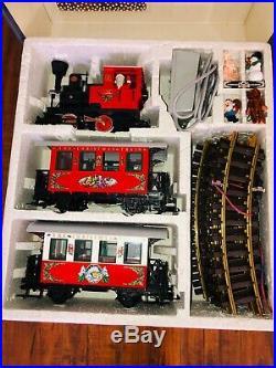 LGB Christmas Train Set 20540 US Lehmann The big Train Indoor Outdoor RARE OOP