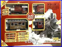 LGB Christmas Train Toy Model 72325 Complete Starter Set 4 Cars