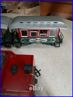 LGB G Gauge LGB 72326 Christmas Holiday Santa Clause Train Set Limited + Track