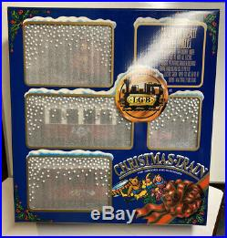 LGB G Scale 1995 Christmas Train Complete Set With Transformer & Track #20540