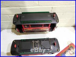 LGB Season's Greetings Christmas Trolley/Street Car Set G Scale Trains