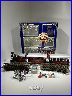 LGB THE CHRISTMAS TRAIN RARE CHRISTMAS SET 22540 US G SCALE GERMANY weihnachts