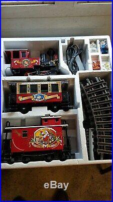 LGB train set 72550 Christmas