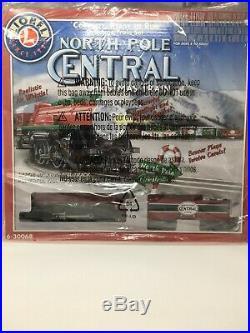 LIONEL 6-30068 North Pole Central Christmas Train Set Tree Train Ready-to-Run O