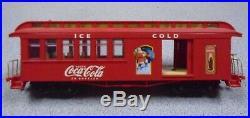 L#2 HO Hawthorne Village Coca-Cola Christmas Train Set W Tracks & Figures