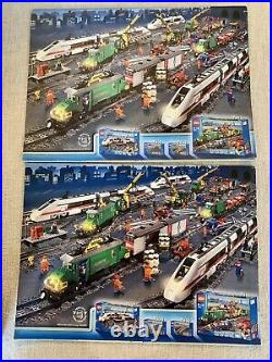 Lego 10173 Christmas Holiday Train Complete Box And Instructions