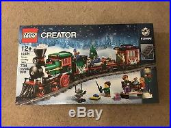 Lego 10254 Winter Holiday Train Christmas Brand New In Sealed Box